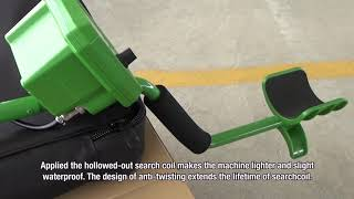 Download all-sun Auto Ground Balance Adjustment Underground Search Metal Detector TS166A Video