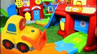 Download Smart Wheels City: Bridge Emergency   Vtech Smart Wheels Toys, Diggers in Action #smartwheels Video