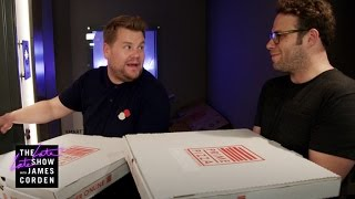 Download Mystery Pizza Box w/ Seth Rogen & Dominic Cooper Video
