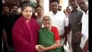 Download Jayalalitha takes a Selfie with a Grandmother on request Video