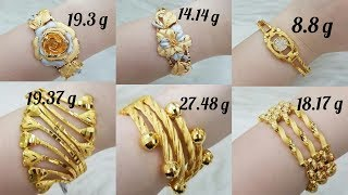 Download Latest Gold Bracelet Designs with WEIGHT Video