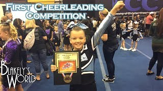 Download First Cheerleading Competition | Blakely Bjerken Video