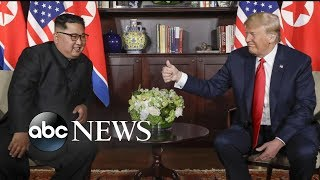 Download Trump and Kim Jong Un making history with their goals to denuclearize Korean Peninsula Video