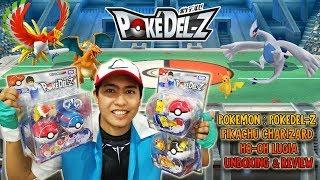 Download I CHOOSE YOU! Pokemon: Pokedel-Z Pikachu Charizard Ho-Oh Lugia Moncolle Unboxing & Review Video