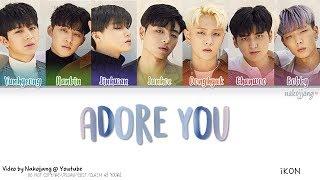 Download iKON (아이콘) – 좋아해요 (ADORE YOU) (Color Coded Lyrics Eng/Rom/Han/가사) Video