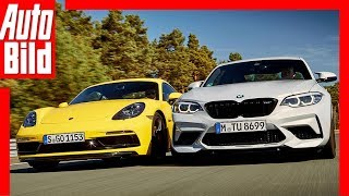 Download BMW M2 Competition vs Porsche Cayman GTS (2018) Test / Vergleich / Review Video
