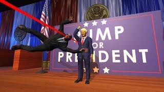 Download Tổng Thống Donald Trump Bị Ám Sát - ThanhTrungGM Làm Vệ Sỉ Siêu Cấp Video