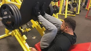 Download Leg Workout @hodgetwins...... Video