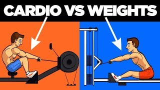 Download Cardio vs Weights (Best Way to Burn Fat) Video