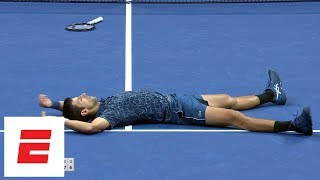 Download 2018 US Open Highlights: Novak Djokovic defeats Juan Martín del Potro in straight sets to win   ESPN Video