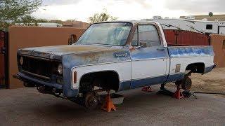 Download 1979 Chevrolet Cheyenne Super 10 350 Restoration Project Video