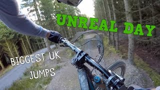 Download UNREAL DAY ON HUGE MTB JUMPS!! Video