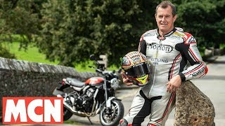 Download Riding with John McGuinness | Interview | Motorcyclenews Video