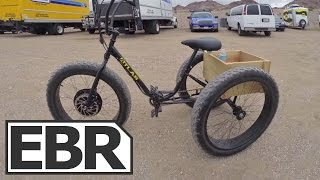 Download E-BikeKit E-Trike Kit Video Review - Electric Sun Bicycles Fat Trike Conversion Video