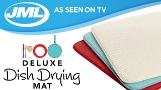 Download Deluxe Dish Drying Mat from JML Video