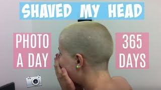 Download Shaved My Head | Hair Growth In 365 Days | Timelapse Video