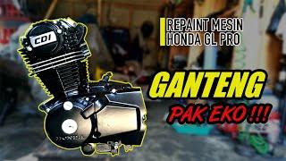 Download Iseng - Iseng Cat Ulang Mesin Honda GL PRO Video