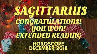 Download SAGITTARIUS, THIS IS YOUR SEASON! ASTROLOGY HOROSCOPE EXTENDED DECEMBER 2018 Video
