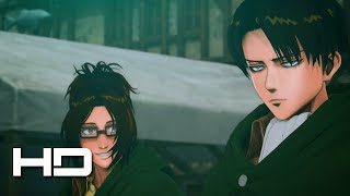 Download ATTACK ON TITAN (PS4) Levi Joins The Fight - Walkthrough Gameplay Cutscene Video