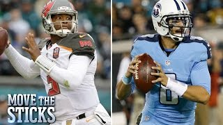 Download Better season so far: Jameis Winston or Marcus Mariota? | Move the Sticks | NFL Video