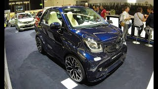 Download BRABUS ULTIMATE 125 SMART FOR TWO CABRIOLET ! LIMITED EDITION ! WALKAROUND + INTERIOR ! MODEL 2017 Video