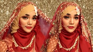Download Bridal Hijab Style / Wedding Hijab Style   Mutahhara♥️ Video