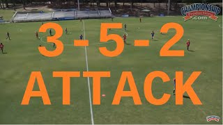 Download Attacking from a 3-5-2 Formation - Jay Entlich Video