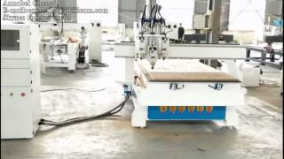 Download PHILICAM FLDM1325 A3S 3 Spindle CNC Router Machine Working Test Video