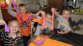 Download 24 Hours With 5 Kids on Halloween Video