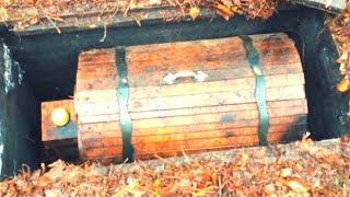 Download He Was Exploring The Woods When His Metal Detector Sounded Then He Dug Up This Mysterious Chest Video