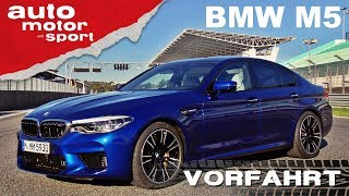 Download BMW M5 (2018): Noch immer ein Drifter? - Vorfahrt (Fahrbericht)| auto motor und sport Video