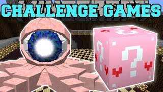 Download Minecraft: EYEBALL OCTOPUS CHALLENGE GAMES - Lucky Block Mod - Modded Mini-Game Video