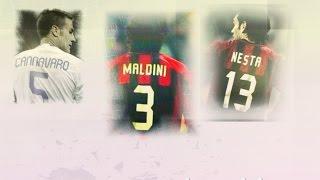 Download Paolo Maldini. Alessandro Nesta..fabio Cannavaro,.Legends Italy,,The defense ministers Video