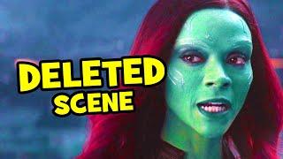 Download Avengers Infinity War DELETED SCENE Thanos & Gamora + Breakdown Video