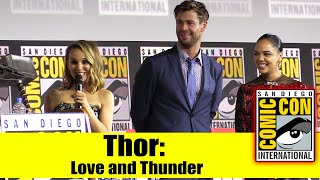 Download THOR: LOVE AND THUNDER | 2019 Comic Con Panel (Chris Hemsworth, Tessa Thompson & Natalie Portman) Video