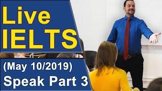 Download IELTS Live - Speaking Part 3 - Band 9 Practice Video