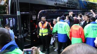 Download QPR v Chelsea. Players arrive to loads of abuse Video