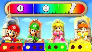 Download Mario Party 9 - Minigames - Mario vs Peach vs Luigi vs Daisy - Master CPU Video