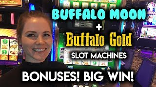 Download AWESOME RUN on Buffalo Slot Machines!!! MAX BET BONUS!!! Video