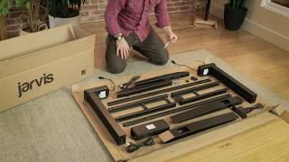 IKEA BEKANT Adjustable Desk Assembly Instructions Free Download