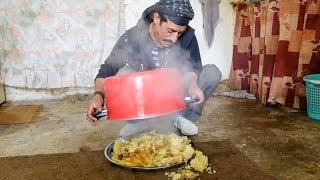 Download Arabic Food in Jordan - HUGE MAQLUBA (مقلوبة) Upside Down Chicken Rice Platter! Video