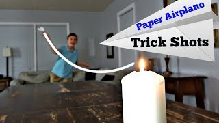 Download Paper Airplane Trick Shots | That's Amazing Video