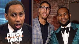 Download Stephen A.: If Anthony Davis joins LeBron James, Warriors no longer favorite | First Take | ESPN Video