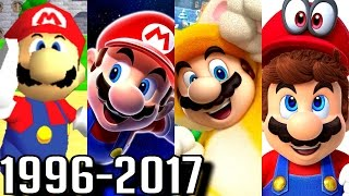 Download All 3D Mario Game Trailers 1996-2017 (Switch, Wii U, 3DS, Gamecube, N64) Video