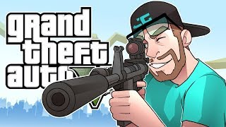 Download GTA 5 Online - GOT HIM IN MY SIGHTS! (GTA 5 Online Multiplayer Funny Moments) Video