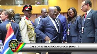 Download President Akufo-Addo arrives in Ethiopia for 30th AU Summit Video