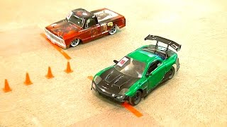 Download WHO WiNS? TANDEM DRiFT Competition - DK Championship - RWD & AWD | RC ADVENTURES Video