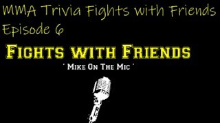 Download UFC based MMA Trivia tonight! All questions based on fighters that will be in UFC 231, 232 and FFN. Video