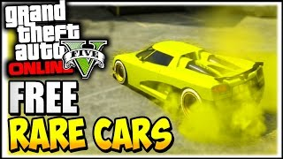 Download GTA 5 Online : RARE CARS FREE Location After Patch 1.37 - Secret Rare Vehicles (GTA 5 Cars Guide) Video
