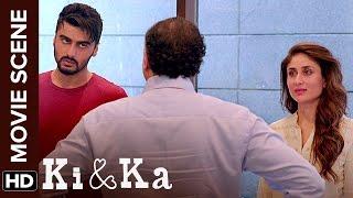 Download Aurat Aadmi Ki Zimmedari Hoti Hai   Ki & Ka   Arjun Kapoor, Kareena Kapoor   Movie Scene Video